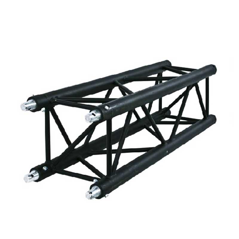 Structure carrée poutre noir  SZ29200 - 2M - NOIR