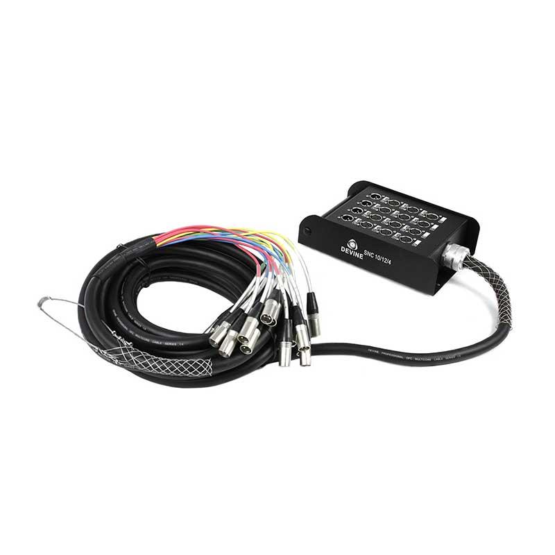 câble multipaire XLR 12 paires 10 m