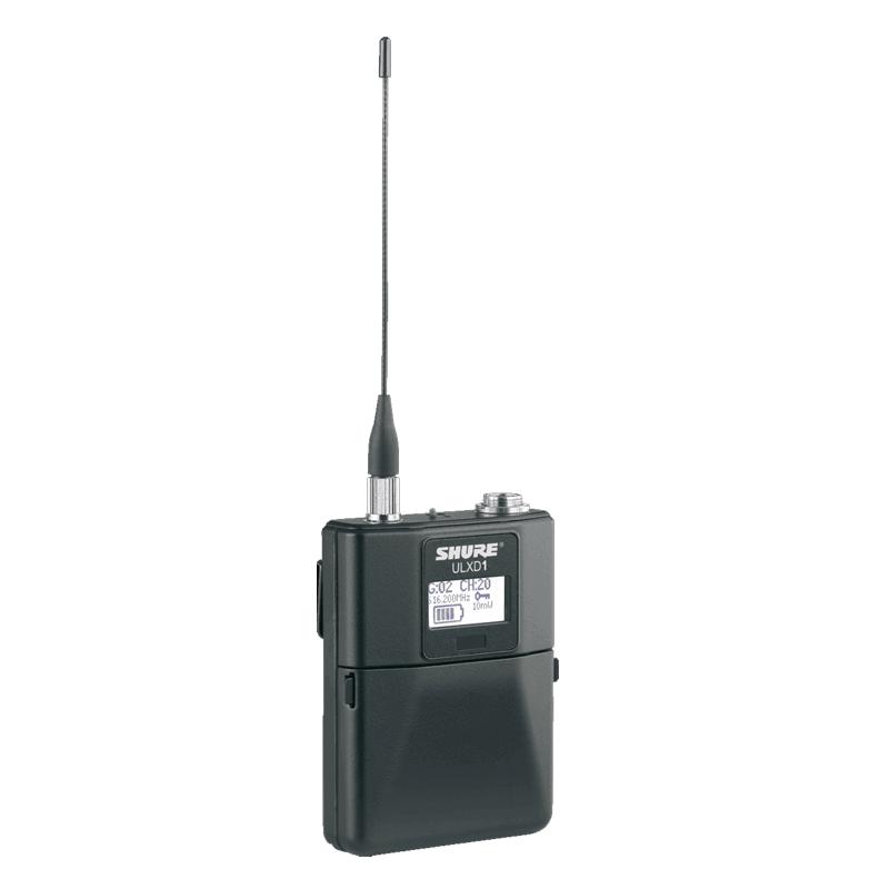 Emetteur ceinture - Emetteur ceinture TA4F - 470-534 MHz ULXD1