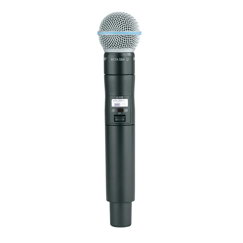 Microphone BETA58 ULXD2 HF Bande G51